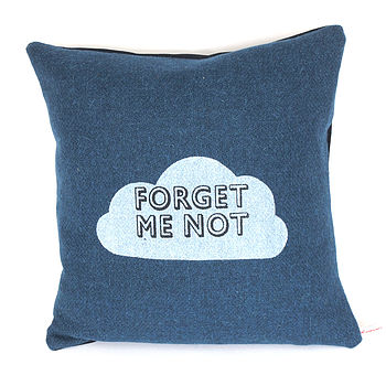 Little Bluey Forget Me Know Cushion