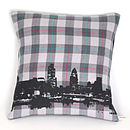 Luckley Tartan London Cushion