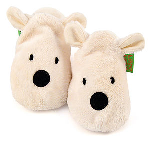 Polar Bear Soft Baby Shoes - babies' slippers