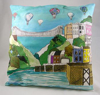 Bristol 'Clifton Balloons' Cushion