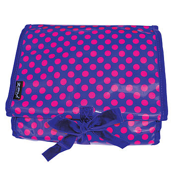 Grape Dots Weekender Toiletry Bag