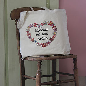 Personalised Wedding Party Tote Bag - bags, purses & wallets