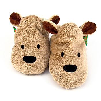 Brown Bear Baby Shoes