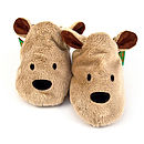 Brown Bear Soft Baby Shoes