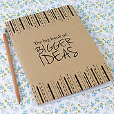 The Big Book Of Bigger Ideas Notebook - corporate gifts