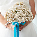Bouquet Hand Tied with Ribbon