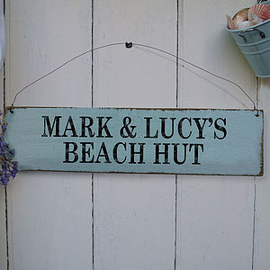 Personalised Wooden Sign - gifts under £50