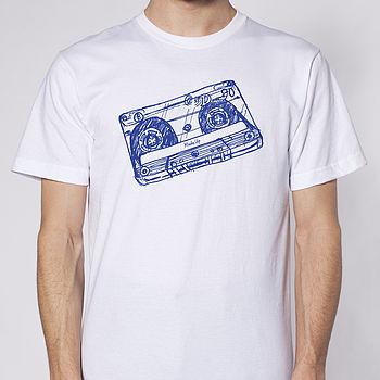 Cassette T-shirt White - bust