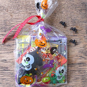Filled Trick Or Treat Halloween Party Bag - children's parties