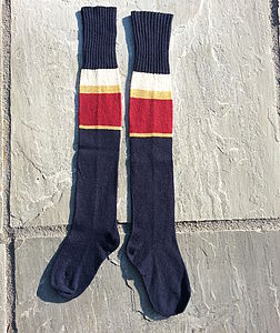 Handmade Long Socks - socks & tights