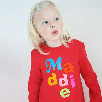 Personalised t shirt for children