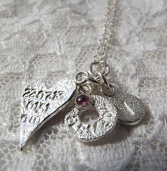 Personalised Silver New Mummy Necklace