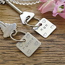 Mum / Mummy Square Key Ring