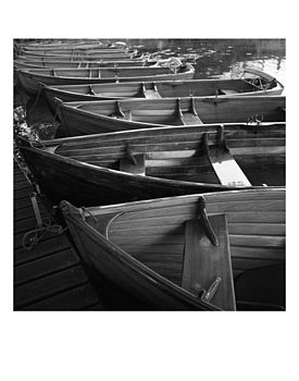 Rowing Boats, Ltd Edition Original Print