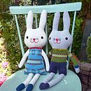 Knitted Lambswool Bunny Rabbit