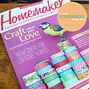 I'm a Knitter Notepad in Homemaker Magazine