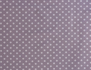 Lavender Spot Organic Cotton Fabric By The Metre