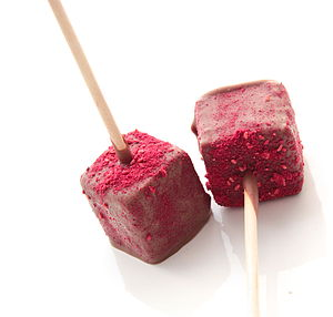 Raspberry Mallow Pop - food & drink gifts