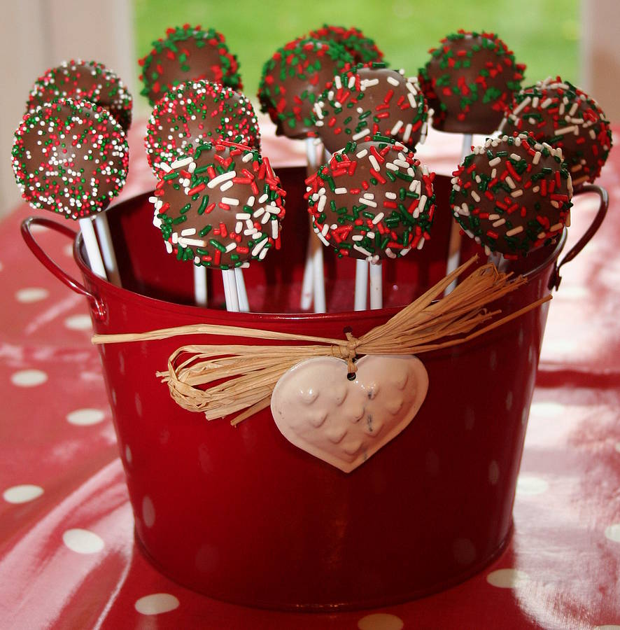 christmas cake pop baking kit by the original cake pop ...