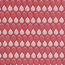 Isabella Red Organic Cotton By The Metre