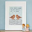 'Dickie Birds' Art Print