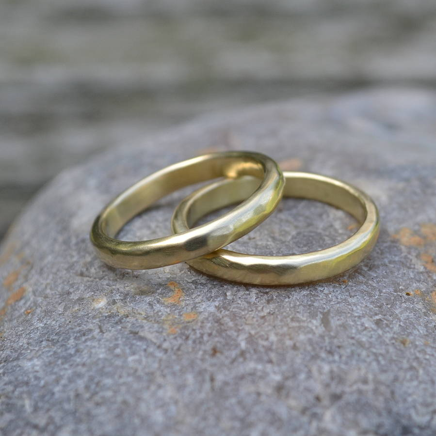 custom handmade wedding rings