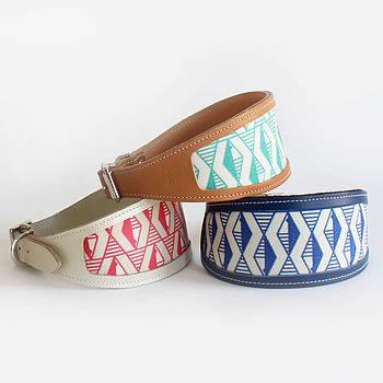 Cool Leather Whippet And Greyhound Collars