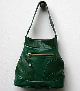 Emerald Sanasha Leather Handbag - bags & purses