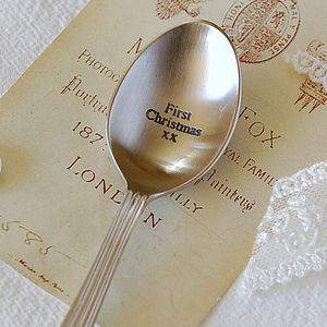 First Christmas Vintage Style Spoon - view all sale items