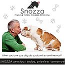 Personalised Silver Dog Nose Keyring Snozza