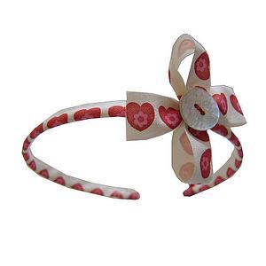 Hearts Handmade Hairband