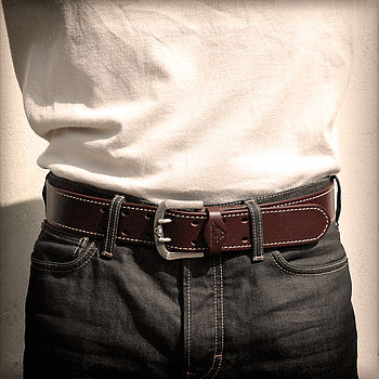 Liskeard Handmade Leather Belt