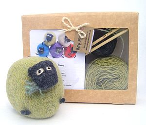 Sheep Knitting Kit - toys & games