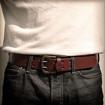 Newquay Handmade Leather Belt