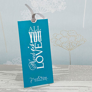 All You Need Wallet Wedding Invitation