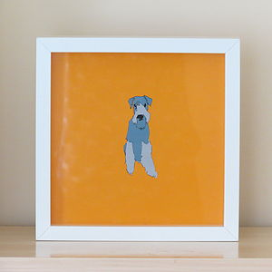 Airedale Terrier Print - animals & wildlife