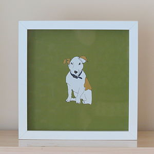 Jack Russell Print - children's pictures & paintings