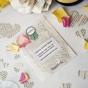 Heart Confetti From Mills And Boon Books - confetti, petals & sparklers