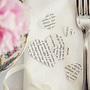Pride And Prejudice Literary Heart Confetti