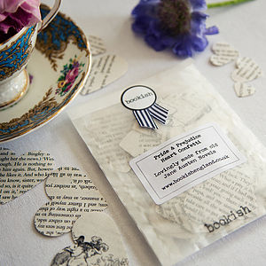 Pride And Prejudice Literary Heart Confetti - cards & wrap