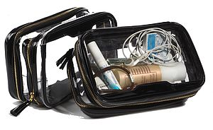 The Clear Inflight Travel Organiser Bag
