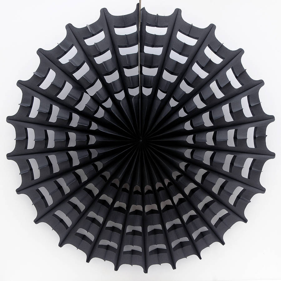 halloween paper spider web decoration by peach blossom ...
