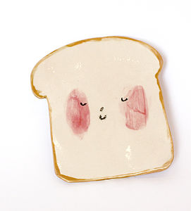 Toast Plate - decorative accessories
