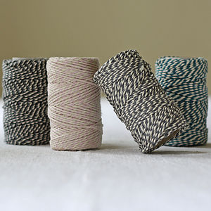 Coloured Baker's String 15m - tape & twine