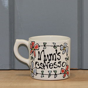 Personalised Espresso Cup - cups & saucers