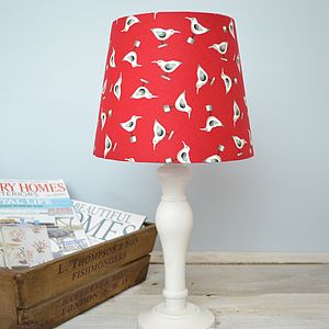 Handmade Seagulls Lampshade - lighting