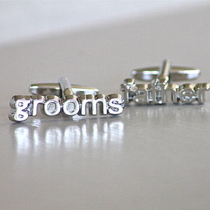 Father Of The Groom Cufflinks - wedding thank you gifts