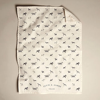 All The Breeds Tea Towel