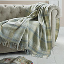 Huntingtower Design Wool Throw