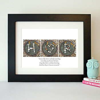 Personalised Initials Art Print